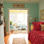 The Preston Suite at the Inn at 400 West High in historic downtown Charlottesville, Virginia with daybed and trundle, bright cheerful sunroom, and private entrance