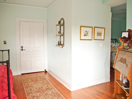 The Preston Suite at The Inn at 400 West High in historic downtown Charlottesville, Virginia