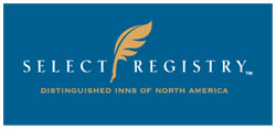 The Inn at 400 West High is an inspected and approved member of Select Registry Distinguished Inns of North America